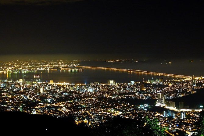 Penang Night Tour Deluxe Package with The TOP Komtar
