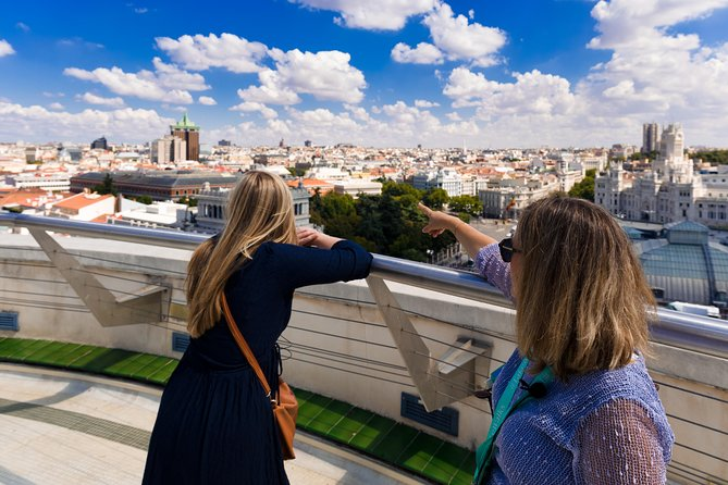 Small Group Early Entrance Royal Palace with Madrid City Tour & Rooftop View