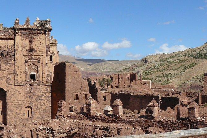 Marrakesh day trip to Ait Ben Haddou & Telouet Kasbahs