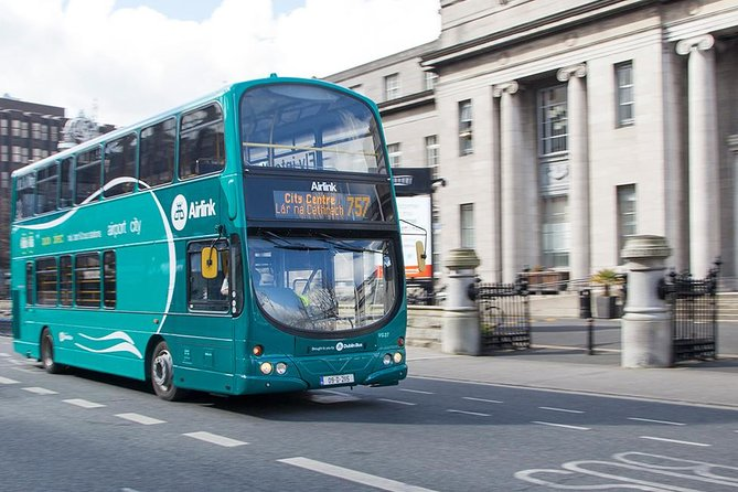 Take the Airlink 757 direct to National Concert Hall and St. Stephen's Green.