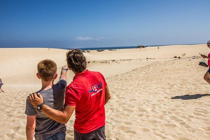 Fuerteventura Dunes en Corralejo vanaf Lanzarote