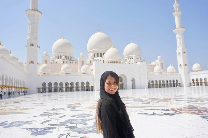 Best of Abu Dhabi City Tour Grand Mosque & Louver Museum & Heritage Village