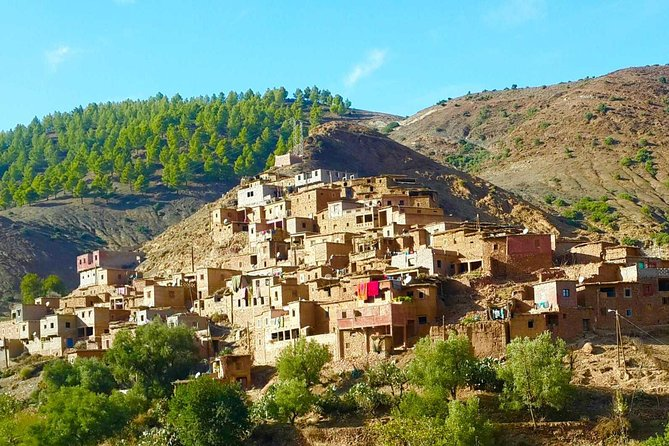 Day trip from Marrakech; Atlas Mountains & Ourika valley