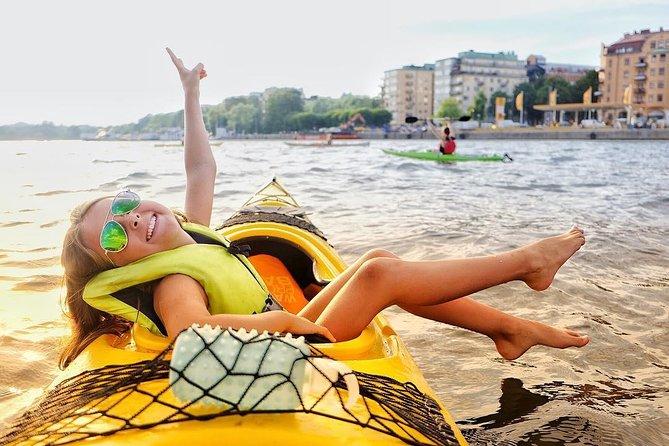 Aventure en kayak sans guide dans le centre de Stockholm (kayak en solo)