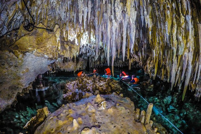 Cenote Cave and Swimming with Turtles from Riviera Maya