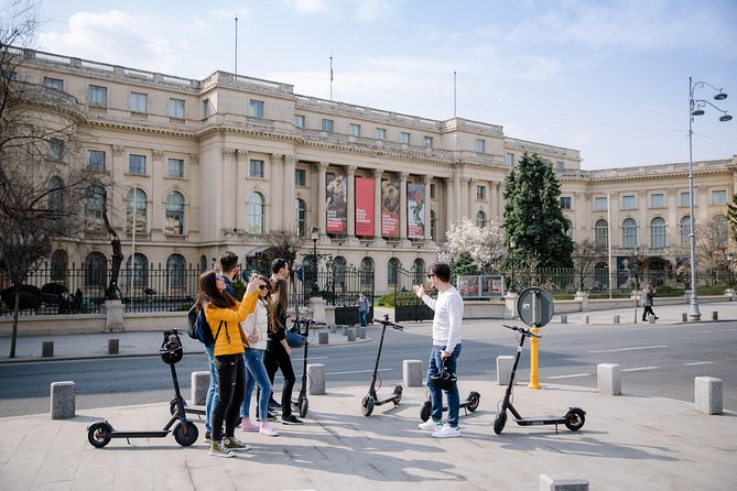 Bucharest Electric Scooter Tour