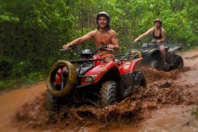 Top ATV´s in Mexico which includes Cenote, Ziplines, lunch and transportation