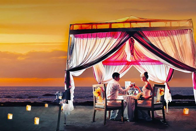 Vegetarian Romantic Dinner Bali with Tent