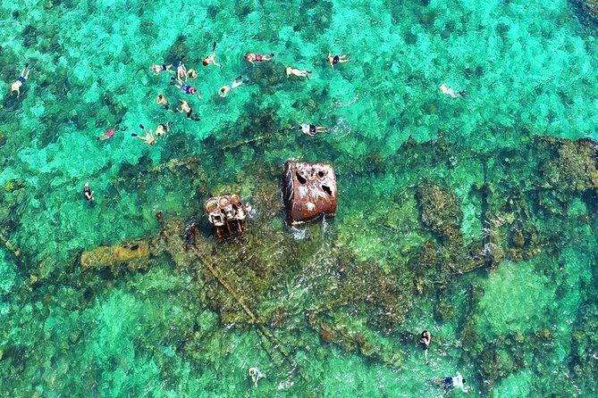 Roatan 3 Stop Snorkeling Adventure, Shipwreck, Starfish & Blue Channel