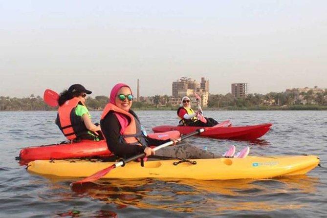 El Cairo Kayak en el río Nilo