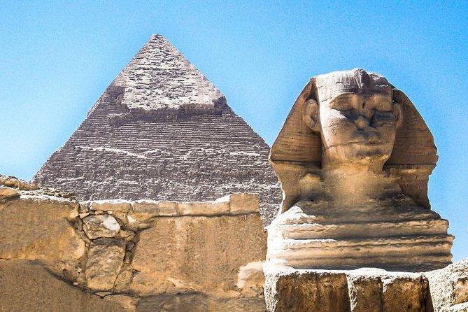 Full-day Giza pyramids Saqqara and Memphis