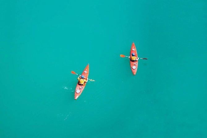 Kayaking in Lagoa da Conceição