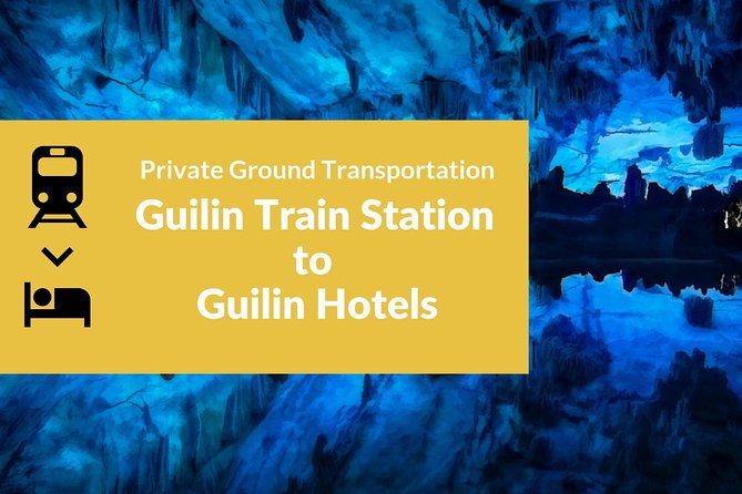 Private Car Transportation from Guilin Train Station to Hotel in Guilin