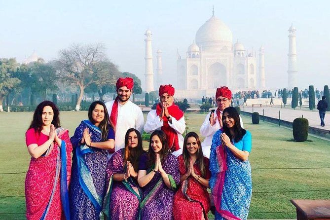 Live Tour Guide Service & Air Conditioned Car : For Full Day Agra Sightseeing.