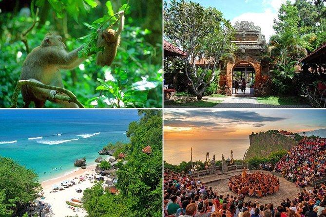 Private Full Day-Tour: Ubud Art Village and Uluwatu Sunset Tour