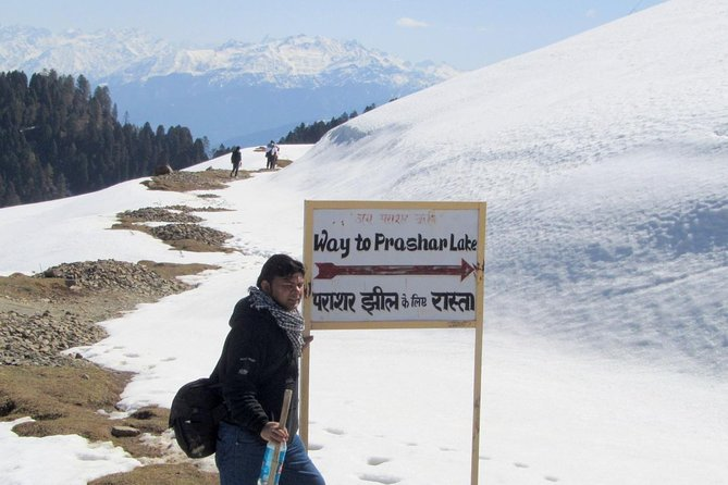 The Best Parashar Lake Treking Package