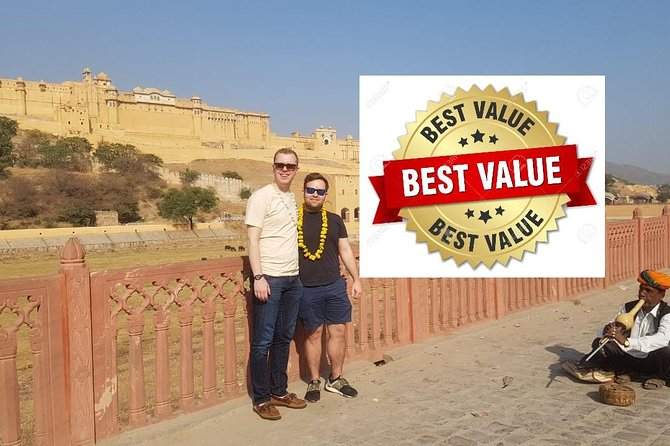 Jaipur Full Day Tour + Entry Tickets