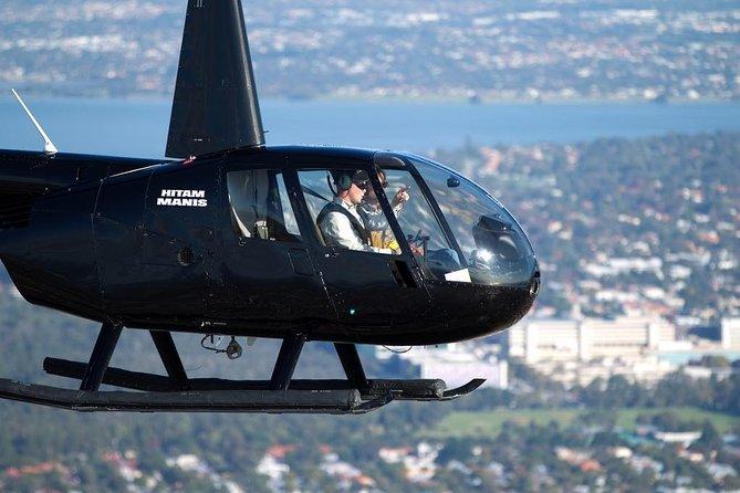 Perth City, Northern Beaches och Fremantle Helikopterflyg från Hillarys Boat Harbor