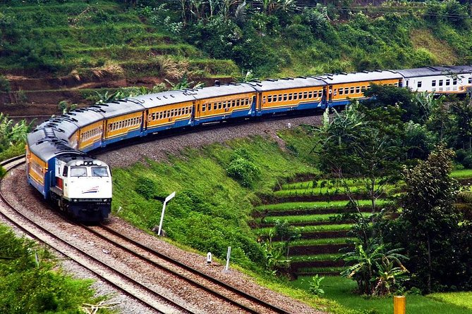 Fullday Bandung Volcano Tour by Train from Jakarta with insurance
