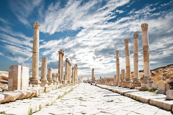 Jerash - Ajloun tour from Amman or Dead Sea