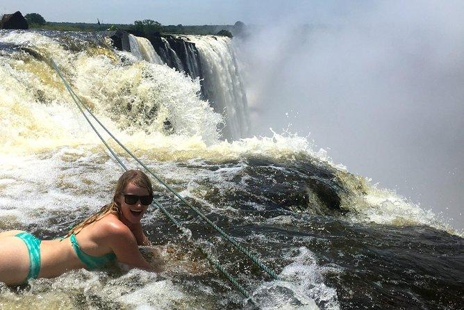 Livingstone Island and Devil's Pool Walking Safari