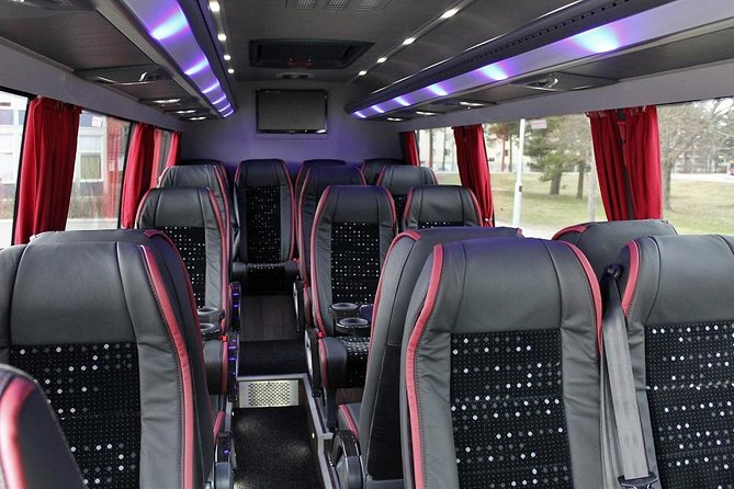 Private Bus from Arlanda Airport to Stockholm City