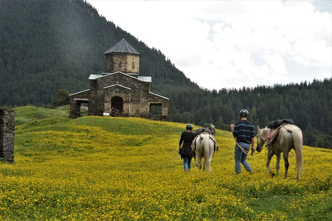 Spring horse drive to Tusheti photo 2