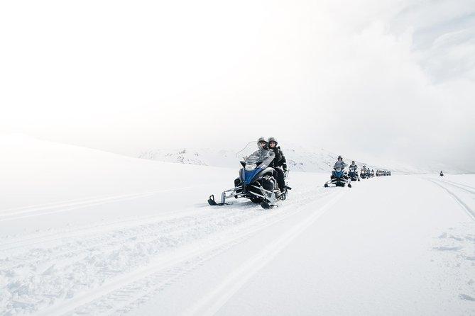 Snowmobile Adventure on Langjökull Glacier from Gullfoss