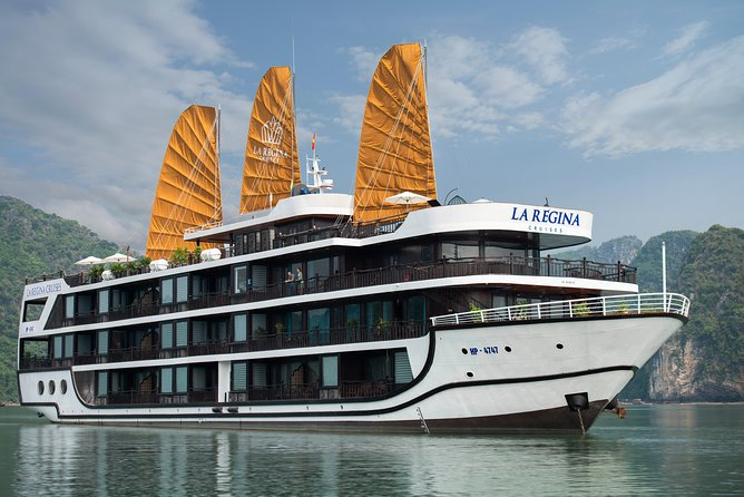 Ha Long - Lan Ha Bay -La Regina Legend Cruise 5 Stars 3 Days - 2 Nights
