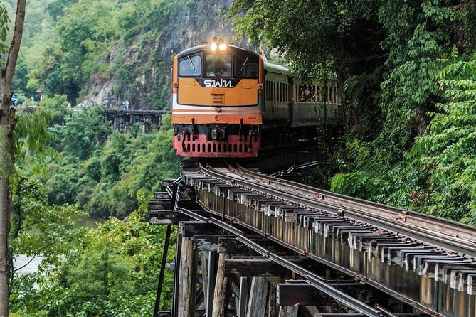 Kanchanaburi's WWII Historical Sites & Erawan Waterfall