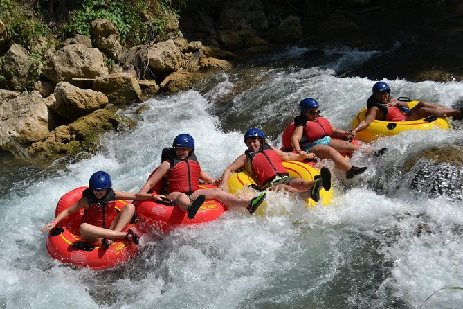 Shared - Jungle River Tubing Adventure Tour from Falmouth