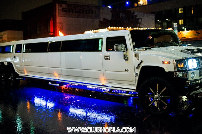 Limo Ride to Hollywood Clubs