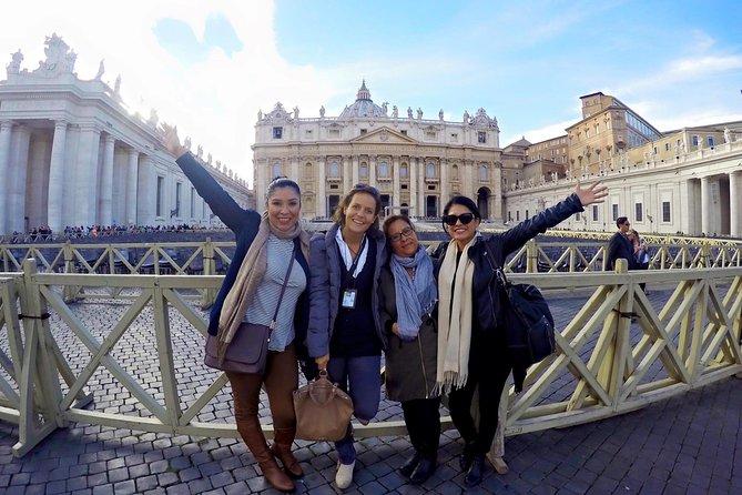 Exclusive Skip-the-line Vatican Sistine Chapel & St.Peter Basilica PrivateTour