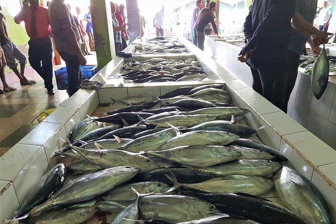 Fish market in Male`