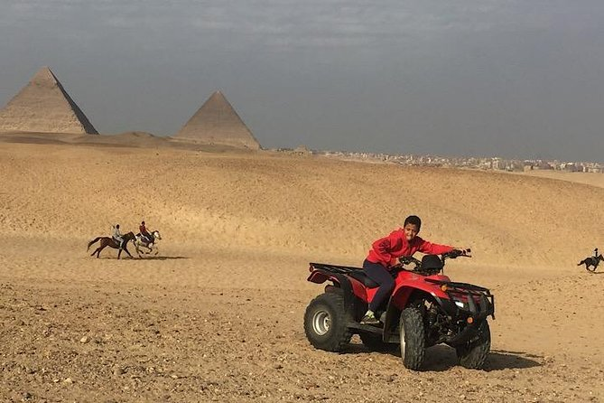 ATV Quad Bike Tour at Pyramids of Giza photo 1