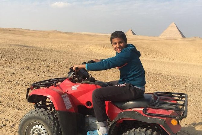 ATV Quad Bike Tour at Pyramids of Giza photo 4