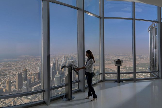 Burj Khalifa Ticket (Level 125 & 124) with Hotel Pickup and Drop off