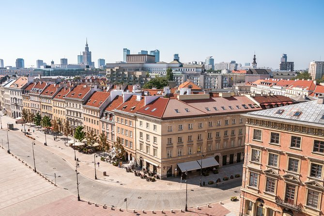 Warsaw Morning, Guided, social-distance bus, city tour with hotel pickup&dropoff