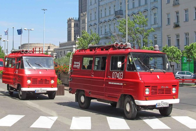 Warsaw Layover Tour (Chopin Airport) by retro minibus