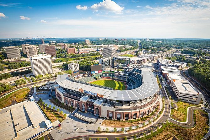 Best Priced SunTrust Helicopter Tour w/ Complimentary Beverage Includes Up to 3