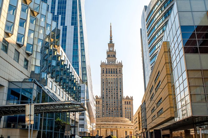 Warsaw Afternoon, guided, social-distance bus, city tour with pick up&drop off