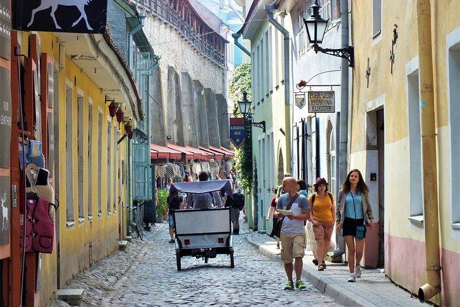 Private Shore Excursion: Tallinn Old Town Walking Tour with Round-Trip Transfer
