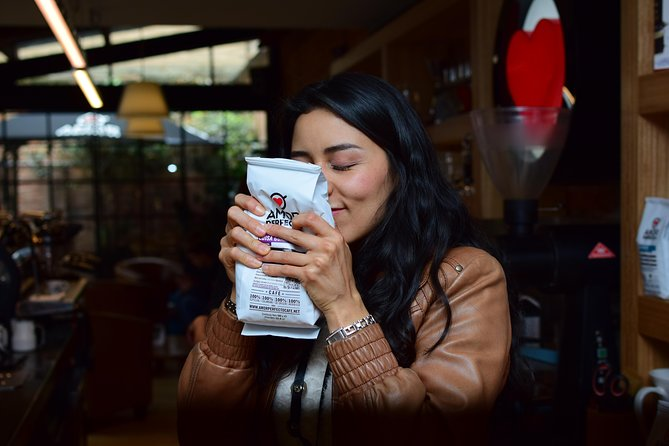 Colombian coffee joy