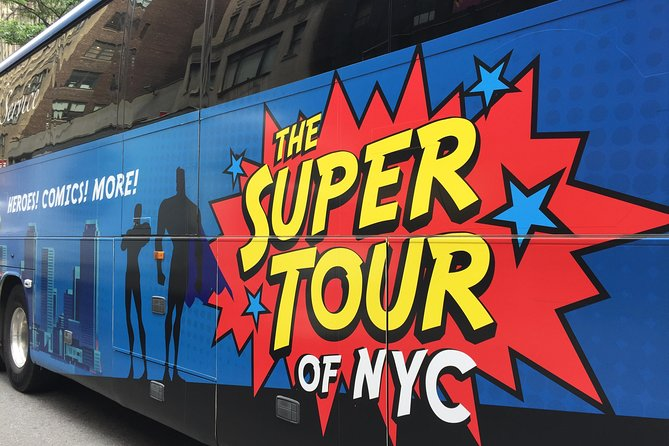 The Super Tour of NYC Heroes Comics and More photo 3
