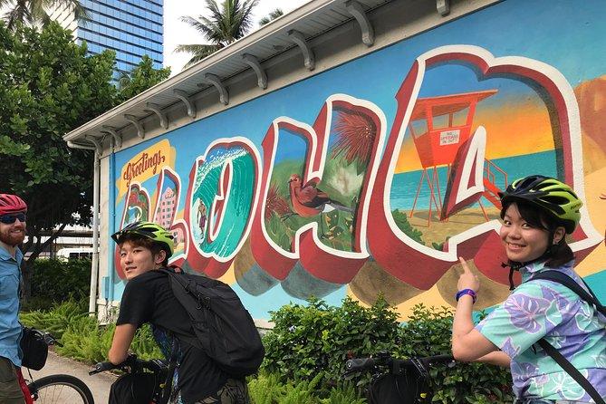 Waikiki Waterfront & Kaka'ako Murals Small-Group Bike Tour with Local Guide