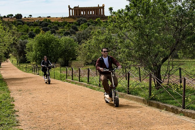 Electric scooter tour inside the Valley of the Temples Agrigento