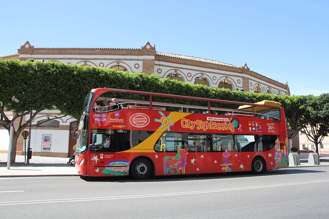 Malaga Shore Excursion: City Sightseeing Malaga Hop-On Hop-Off Bus Tour