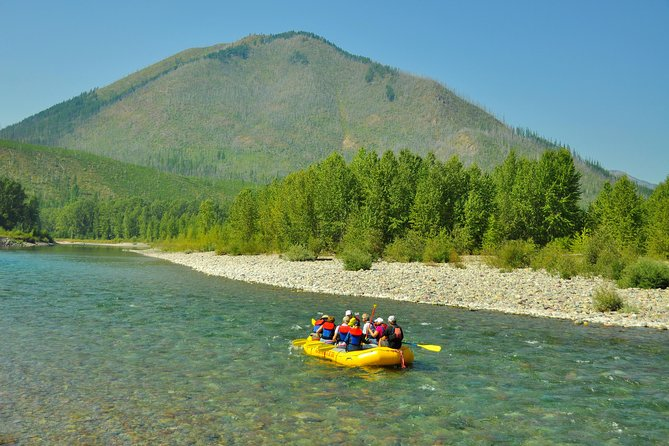 Half Day Scenic Float on the Middle Fork of the Flathead River