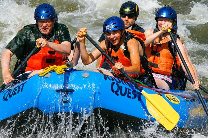 The Full-Day Bighorn Sheep Canyon rafting trip is perfect for families and groups!