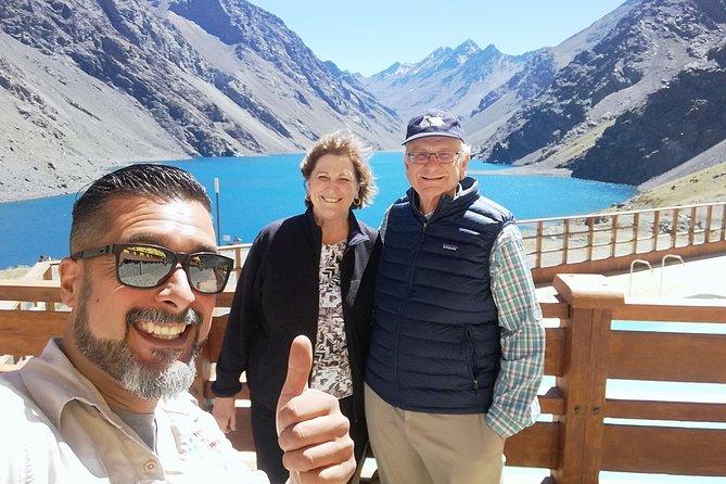 Inca Lagoon in Portillo Andes Mountains - Arqueologic Park & Wine Tasting
